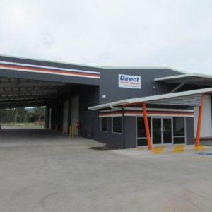 Direct Freight Express Depot Industrial Building Construction Rockhampton