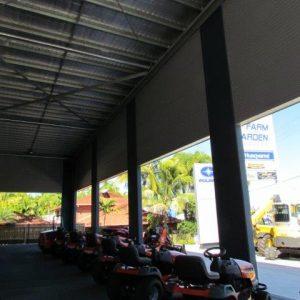 Industrial Sales Floor Construction